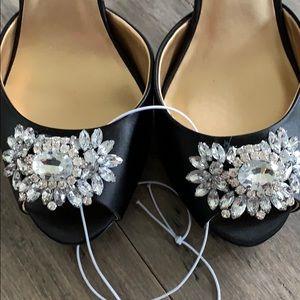Badgley Mischka Shoes - Badgley Mischka satin heels